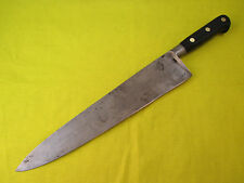 Professional Sabatier 12 inch Carbon Steel Chef Knife