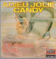 """7"""" Jean Francois Michael Adieu jolie Candy 60`s vogue DV 14 949"""