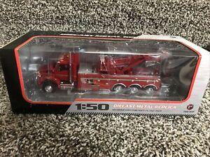 1:50 First Gear VIPER RED Kenworth T880 Miller Rotator Wrecker 50-3315 NEW