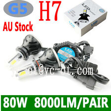G5 COB led car headlight bulb 80W 8000lm H1 H3 H4 H7 HIR2 HB4 9005 9012 H9 H8
