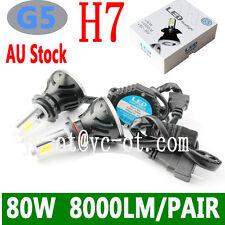 G5 COB led car headlight bulb 80W 8000lm H1 H3 H4 H7 HIR2 HB4 9005 9012 H9 H8