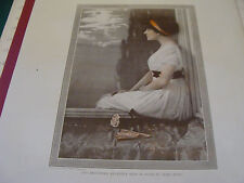 J.L. TAYLOR & COMPANY aprox 22 x 15 ad page w/ IVY TROUTMAN in Baby Mine 1910