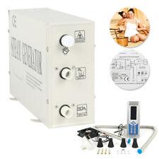Multi-Functional 3KW Steam Generator Sauna Bath Home SPA Shower Bathroom Cabinet