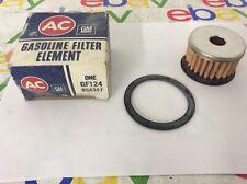 NOS 1953-1961 Corvette GM Glass Bowl Fuel Filter ELEMENT Oem 854347
