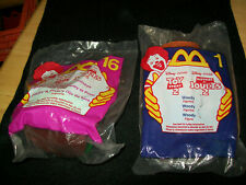 1999 disney McDonalds Happy Meal Toy Story 2 Woody #1 & Bullseye # 16 NEW SEALED
