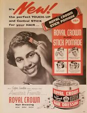 MISC Hair Care Ads 9 Print Ads Ebony Esquire The Saturday Evening Post 1947-1955