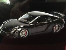 Schuco Porsche Cayman Gt4 Black 1 18 450040100