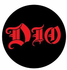 Parche /Iron on patch, Back patch, Espaldera/- Dio, C