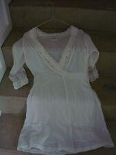 BRAEZ Designer Kleid Boho Romantik Minikleid Spitze Rüschen
