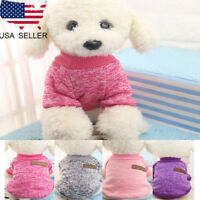 Soft Pet Dog Sweater Summer Chihuahua Clothes Classic Pet Outfit for Small Dogs