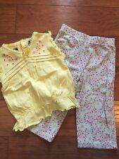 Gloria Vanderbilt 18 Mo Toddler Girl Yellow Top Bottom Outfit Lot Koala