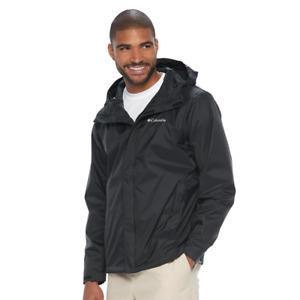 NEW Columbia Storm Clash Waterproof Breathable Rain Jacket Navy 1706083 Size 2XT