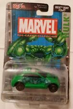 NIP Marvel Die-cast Collection Series 2 Hulk HUNT 2 of ? Chrysler Pronto Cruiser
