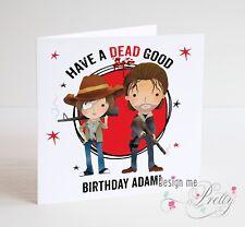 The Walking Dead birthday Day Card - Dad Daddy Father