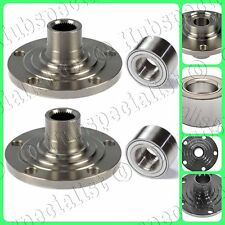 FOR AUDI A4 1997-2001 FRONT WHEEL HUB & BEARING  4CYL 2WD-FWD PAIR NEW FAST SHIP