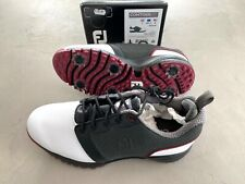 FootJoy Contorno Para Zapatos de Golf Blanco/Negro/Rojo UK 7 Medio - Ex Display