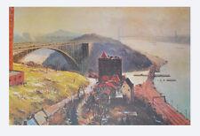 Jack Lorimer Gray Kunstdruck Poster Bild seltener Lichtdruck Landschaft am Fluss