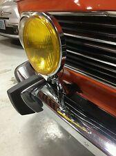 Vintage bmw 1600 2002 tii  bumper bracket fog light lamp chrome brackets mounts