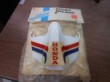 NOS Hondaline Goggle Facemask White M1157-535-87258