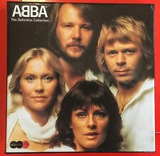 SUPER ABBA BOX SET THE  DEFINITIVE COLLECTION 2 CDS PLUS DVD WITH 35 VIDEOS