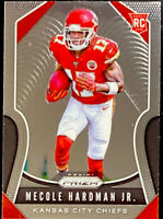 🔥 2019 MECOLE HARDMAN JR. RC Panini Prizm BASE #345 Centered! CLEAN Chiefs