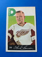 Hank Bassen 1962-63 Parkhurst Vintage Hockey Card #19 Detroit Red Wings