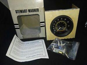 NOS STEWART WARNER MARINE KNOTS SPEEDOMETER GAUGE 20-75 mph (Seaworthy) 82169