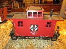 Bachmann Santa Fe ATSF 425 Train Car - G Scale Caboose great condition & price