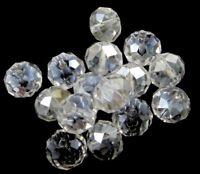 90 Glasperlen 4mm Rondell Crytal AB Tschechische Kristall Schmuck DIY X160#3