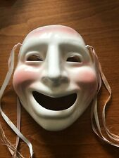 About Face San Francisco Ceramic Wall Face Mask Comedy Theatre Theme VGC