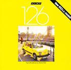 1977 1978 Fiat 126 Saloon and DeVille 16-page Original Car Sales Brochure