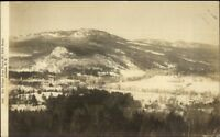 Jackson NH Village From Thorn Mtn c1910 Real Photo Postcard