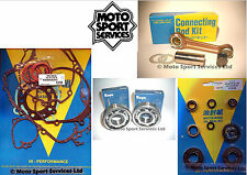 KX 85 01-06 Mitaka Bottom End Engine Rebuild Kit Rod Mains Gasket Seal Kit