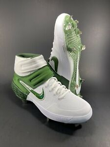 Nike Alpha Huarache Elite II Pro Mid Baseball Cleats Mens Size 9.5 CK0449-100