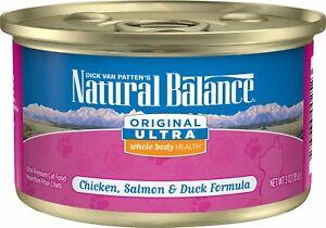 Natural Balance Original Ultra Whole Body Health Chicken, Salmon & Duck 3oz 24pk
