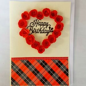 Handmade Happy Birthday Pop Up 3D Cards Enjoy Your Day With Creative Greeting