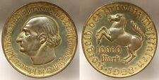 10000 Mark 1923 Westfalia Germany German States #1557
