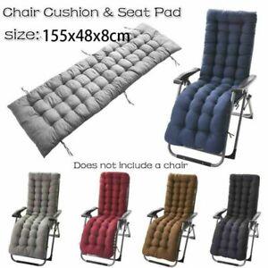1pcs Chair Seat Cushion Soft Thick Outdoor Patio Backyard Garden Lounge Seat Pad