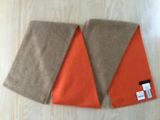 J.Crew Collection Colorblock Cashmere Scarf | Camel Orange | $168