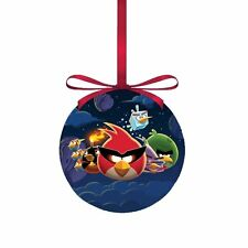 """Angry Birds in Space Decoupage Ball Ornament, 3.15"""",  by Kurt Adler"""