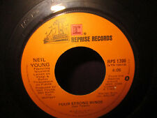 Neil Young 'Four Strong Winds & Human Highway' 45