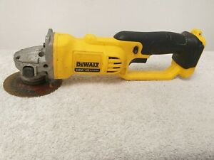 DeWalt Cordless 18V XR Angle Grinder DCG 412  (Body Only) Used working Condition