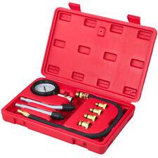 9 tlg Kompressionstester Kompressionsprüfer Benzinmotor PKW/LKW Tester Meßgerät