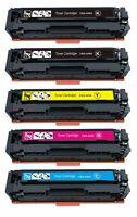 5Pk 045 045H Toner Cartridge For Canon Color imageCLASS 1246C001 MF632Cdw LBP612