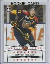 14-15 ITG Connor McDavid In The Game Leaf Canada's Best Pre Rookie Card RC #11