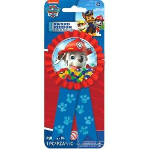 Paw Patrol GUEST OF HONOR RIBBON ~ Birthday Party Supplies Favors Award