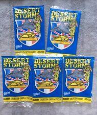 Desert Storm Series 1 Wrapper Ireland Trading Cards Topps