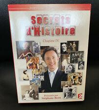 DVD PAL SECRETS D'HISTOIRE CHAPITRE IV COMME NEUF
