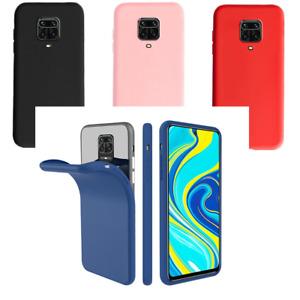 For Xiaomi Redmi Note 9 Case Slim Thin Silicone Gel Rubber Bumper Shockproof