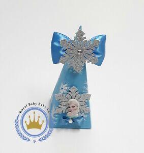 Frozen Elsa Wedding Xmas Birthday Party Organza Gift Box Candy Princess 6pcs